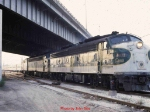 Amtrak Crescent, northbound, May, 1979 [4]